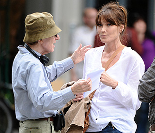 Woody Allen 'delighted' with Carla, despite reports