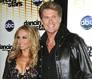 David Hasselhoff no longer 'Dancing with the Stars'