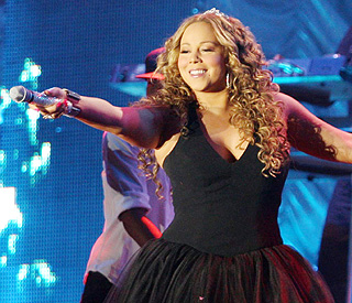'Lack of sensible shoes' lands Mariah in wheelchair