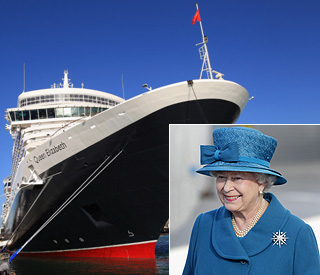 The good ship Elizabeth: Queen names cruise liner