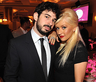 Christina Aguilera splits from her husband