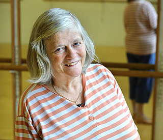 Ann Widdecombe carries on despite brother's death