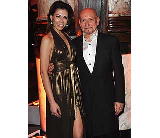 Sir Ben Kingsley going strong with fourth wife