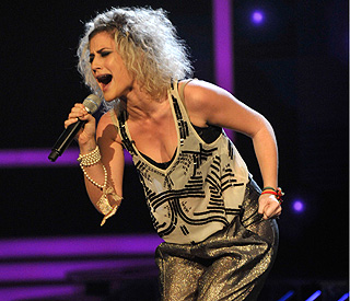 Panic-stricken Katie Waissel could quit 'X Factor'