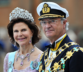 'It was a long time ago': King Carl on affair claims