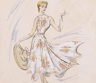 Rare Grace Kelly dress designs up for auction