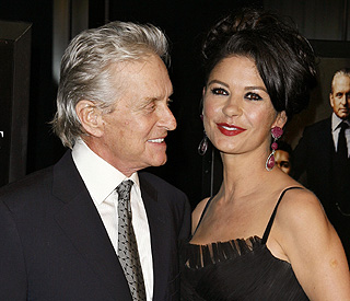 Catherine and Michael Douglas: a decade of marriage
