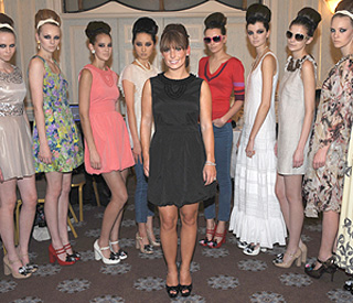 Coleen Rooney back in the spotlight with fashion line