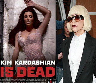 'Digital deaths' of Kim Kardashian and Lady Gaga