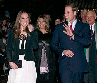 Kate and William make first public engagement