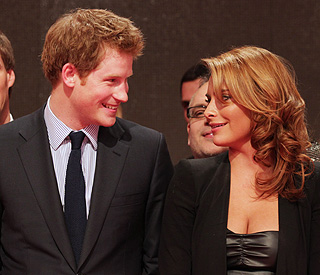 Prince Harry hits it off with a pretty fraulein in Berlin