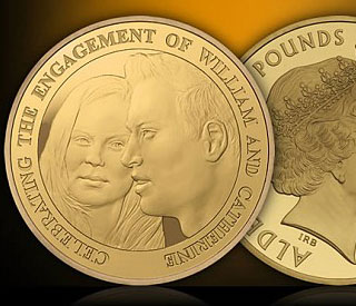 Official William and Kate coin released