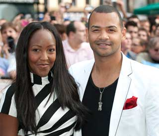 TV couple Angellica Bell and Michael Underwood wed