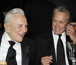 Kirk Douglas: My tears of joy over Michael's recovery