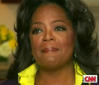 Piers Morgan reduces Oprah to tears on CNN show