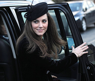 Location of Kate Middleton's 'last night' revealed