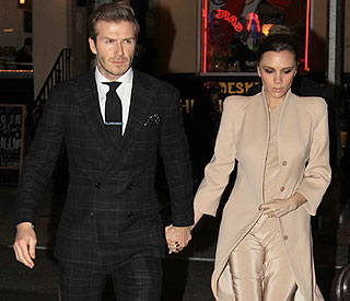 Beckhams celebrate Valentine's Day in the Big Apple