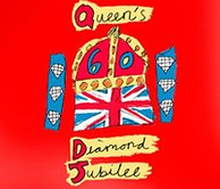 Ten-year-old designs Diamond Jubilee emblem