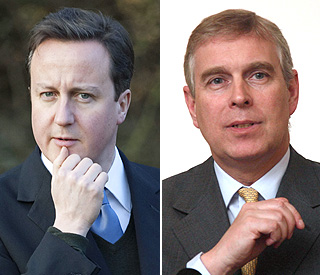 David Cameron has 'full confidence' in Prince Andrew