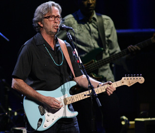 Eric Clapton auctions guitars for charity
