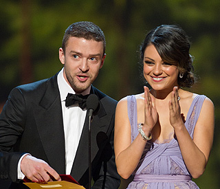 Mila Kunis and Justin Timberlake 'just friends'