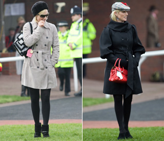 Zara Phillips ups style stakes at Cheltenham
