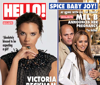'Thrilled' Mel B joins pregnant Spice Girl brigade