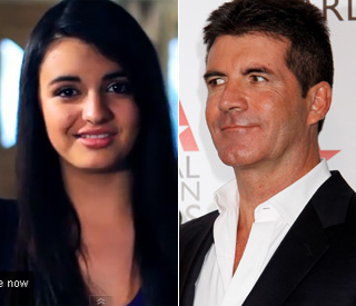 Teen sensation Rebecca Black gets Simon's approval