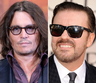 'Life's Too Short' for Johnny Depp and Ricky Gervais