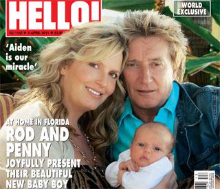 Exclusive: Rod and Penny introduce their 'miracle baby'