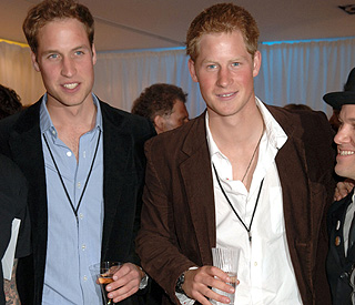 A top secret stag do for Prince William