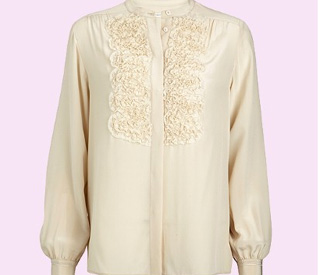 Kate's engagement blouse back on sale at Whistles