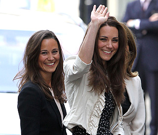 Kate Middleton waves goodbye to single life