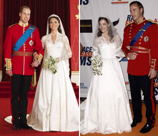 Kate's 12-hour knock-off wedding dress