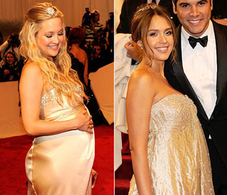 Pregnant Kate Hudson and Jessica are the golden girls