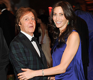 Paul McCartney and Nancy Shevell engaged