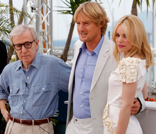 Woody, Rachel and Owen descend on Cannes
