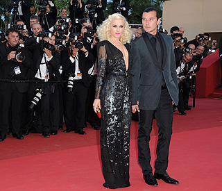 Seventies glamour for Gwen Stefani at Cannes