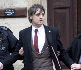 Pete Doherty sentenced to six months in jail