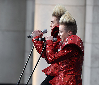 Jedward: 'Obama might ask us to be vice-president'