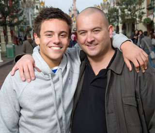 Tom Daley: 'I love you so much dad'