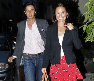 Pippa parties into early hours with Frenchman