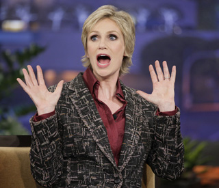 'Glee' star Jane Lynch 'tickled pink' by Emmy gig