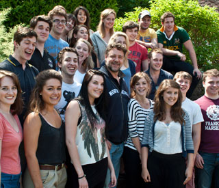 'Nervous' Russell Crowe's Durham acting classes