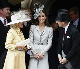 Camilla at Kate's side as she adjusts to public life
