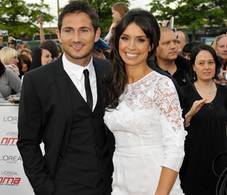 Frank Lampard and Christine Bleakley engaged
