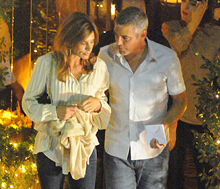 George's girl Elisabetta Canalis talks marriage