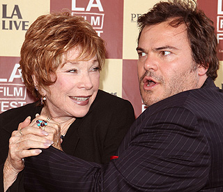 Jack Black: working with Shirley 'was a dream come true'