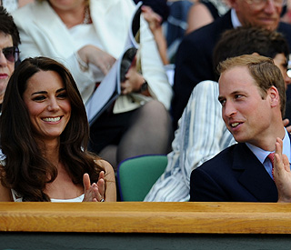 Kate and William cheer on Andy Murray at Wimbledon