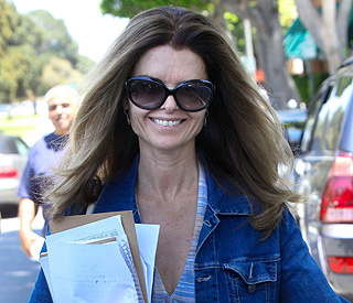 Maria Shriver touched by special message of support